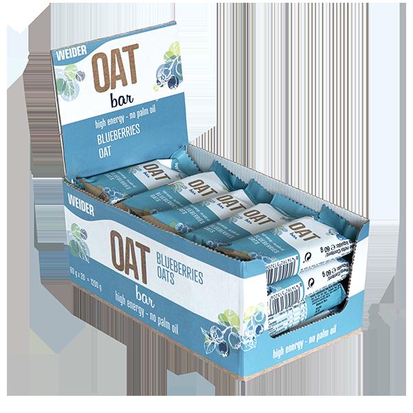oat bar blueberries box
