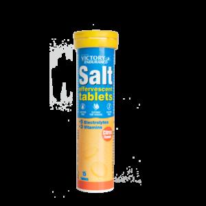 tabletas efervescentes de sal