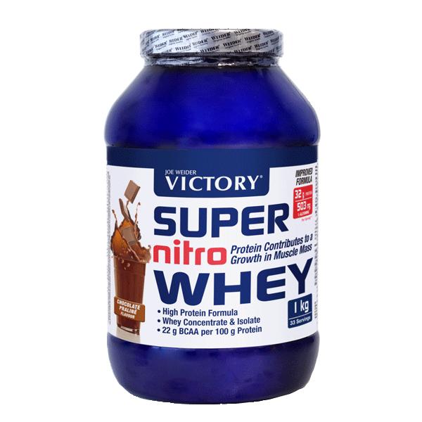 suplemento super nitro whey de chocolate