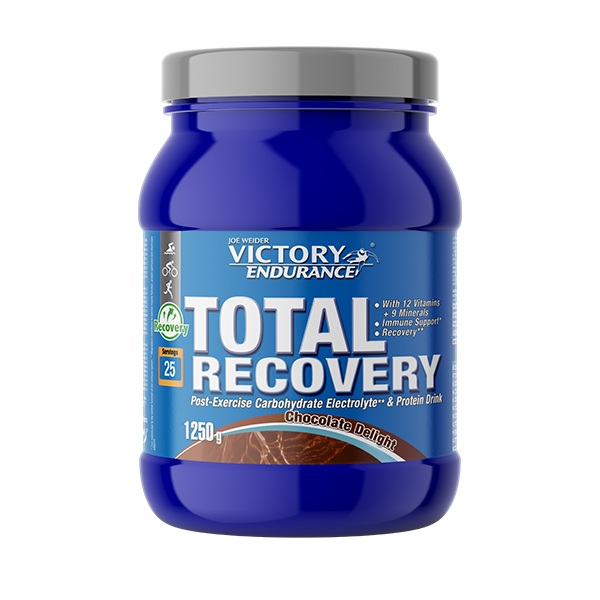 Suplemento carbohidratos Total Recovery chocolate