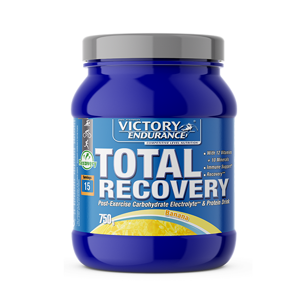 Suplemento carbohidratos Total Recovery plátano