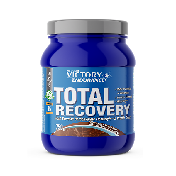Suplemento carbohidratos Total Recovery chocolate placer