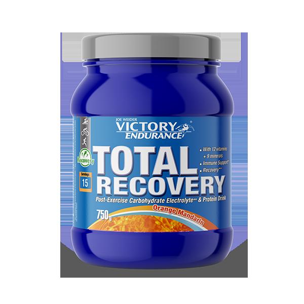 Suplemento carbohidratos Total Recovery Naranja mandarina