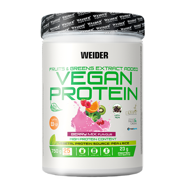 proteina vegana berry mix