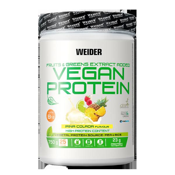 proteina vegana piña colada