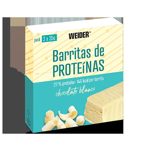 barritas de proteina choco blanco