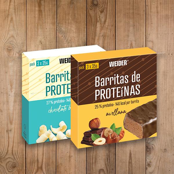 barritas de proteina