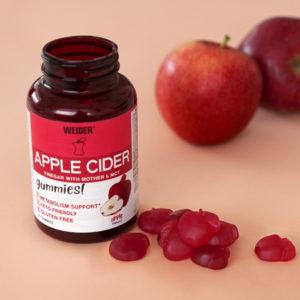 vinagre de manzana gominolas