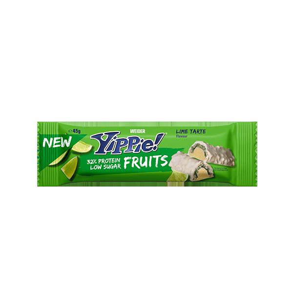 yippe fruits bar lime tarte